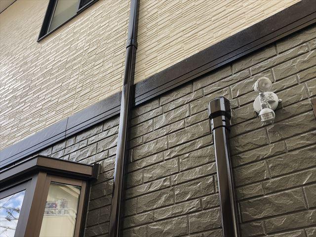 富士市の外壁塗装ツートン