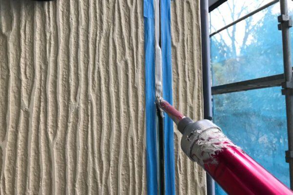 富士宮市の外壁塗装シーリング